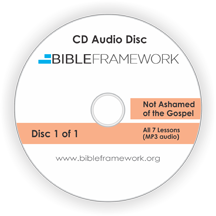 Not Ashamed of the Gospel CD